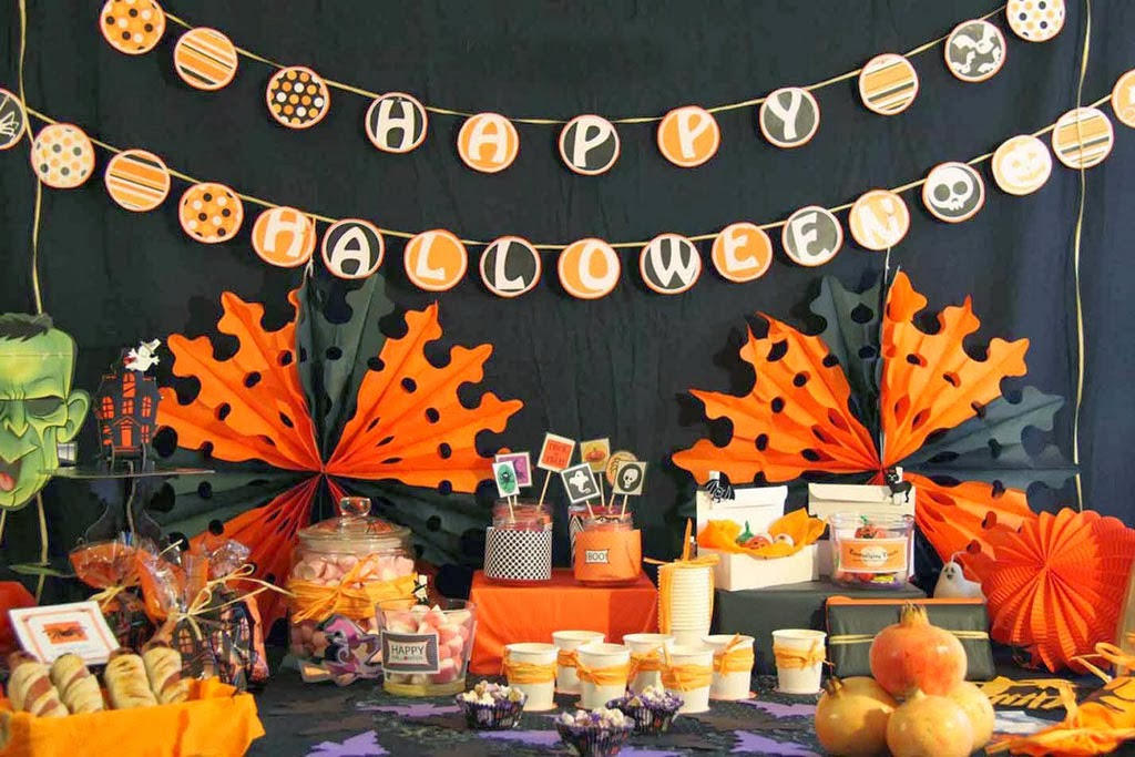 Halloween-mesa